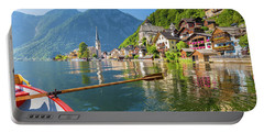 Exploring Hallstatt Portable Battery Charger by JR Photography