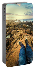 Exploring The Beaches Of Western Tasmania Portable Battery Charger