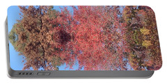 Explosion Of Autumn Leaves Portable Battery Charger