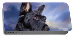 Expression Is Everything Scottish Terrier Dog Portable Battery Charger