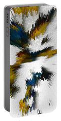 Portable Battery Charger featuring the digital art Sculptural Series Digital Painting 612.102310extrusion by Kris Haas