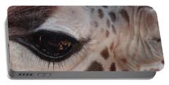 Eye Of A Giraffe Portable Battery Charger