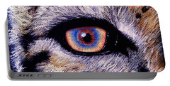 Eye Of A Tiger Portable Battery Charger