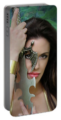 Eye Of A Warrior Portable Battery Charger