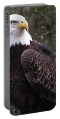 Eye Of The Eagle Portable Battery Charger by Trish Tritz