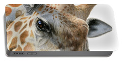 Eye Of The Giraffe Portable Battery Charger