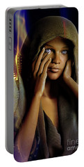 Eye Of The Soul Portable Battery Charger by Shadowlea Is