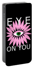 Eye On You - Black Portable Battery Charger