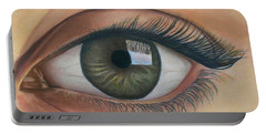 Eye - The Window Of The Soul Portable Battery Charger