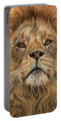 Eye To Eye, Lion. Portable Battery Charger