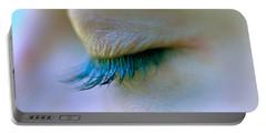 Eyelashes Portable Battery Charger