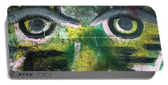 Portable Battery Charger featuring the photograph Eyes by Hans Franchesco