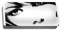 Eyes Of Lust Portable Battery Charger by Tbone Oliver