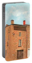 Eymoutieres House Portable Battery Charger by Jeni Bate