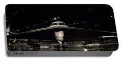 B - 2 Bomber Portable Battery Charger by David Bearden