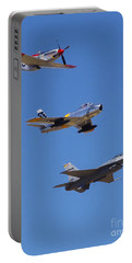 F-16 P-51d F-86 Heritage Flight- Flyby Portable Battery Charger
