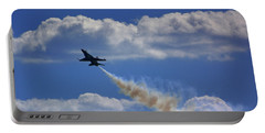 Portable Battery Charger featuring the photograph F-18 by Raymond Salani III