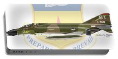 F-4d Phantom Bitburg Portable Battery Charger