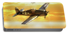 F-6f Hellcat Pacific Sunrise Portable Battery Charger