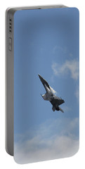 Portable Battery Charger featuring the photograph F/a-18 Fighter Fast Climb by Aaron Berg
