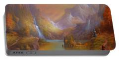 The Fellowship Breaking Camp Portable Battery Charger by Joe Gilronan