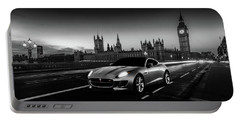 F-type In London Portable Battery Charger by Mark Rogan