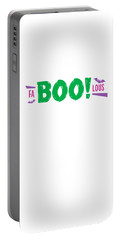 Fa Boo Lous Pun On Halloween Scary But Easy Costume Love Halloween Office Parties Gift Or Present Portable Battery Charger