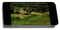 Portable Battery Charger featuring the photograph Fabbriche Di Vagli Paese Fantasma Ghost Town 1 by Enrico Pelos