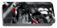 Fabio Fognini Portable Battery Charger by Brian Reaves