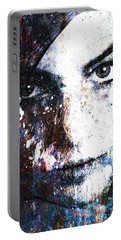 Face In A Dream Portable Battery Charger