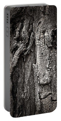 Face In A Tree Portable Battery Charger by JoAnn Lense