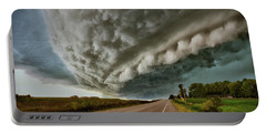 Face In The Storm Portable Battery Charger