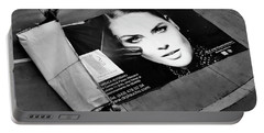 Face On The Floor Portable Battery Charger
