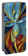 Fractal Flower Portable Battery Charger