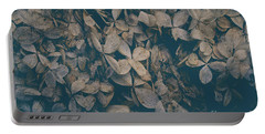 Portable Battery Charger featuring the photograph Faded Flowers by Edward Fielding
