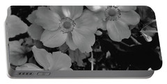 Faded Flowers Portable Battery Charger
