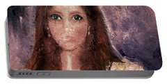 Portable Battery Charger featuring the photograph Faded Memories by Claire Bull