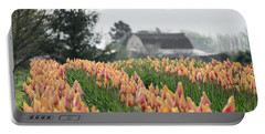 Faded Tulip Barn Portable Battery Charger