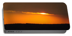 Fading Sunset  Portable Battery Charger