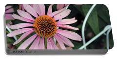 Fading To Pink Cone Plant Portable Battery Charger