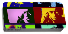 Portable Battery Charger featuring the photograph Fail Safe Pop Art by Christopher McKenzie