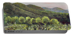 Fainting Goat Valley - Vineyards -  Jasper, Ga Portable Battery Charger by Jan Dappen