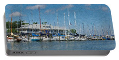 Fairhope Yacht Club Impression Portable Battery Charger