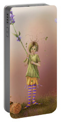Fairy Bella Lavender Portable Battery Charger