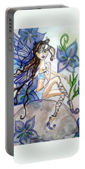 Fairy Blue Portable Battery Charger