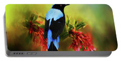 Fairy Bluebird Portable Battery Charger