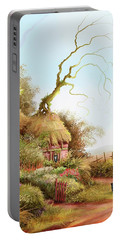 Fairy Chase Cottage Portable Battery Charger