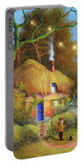 Fairy Cottage Portable Battery Charger