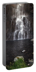 Portable Battery Charger featuring the photograph Fairy Falls - Yellowstone National Park by Craig J Satterlee