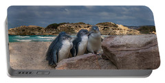 Portable Battery Charger featuring the photograph Fairy Penguins by Elaine Teague